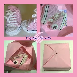 scarpine sneakers rosa in lana merino