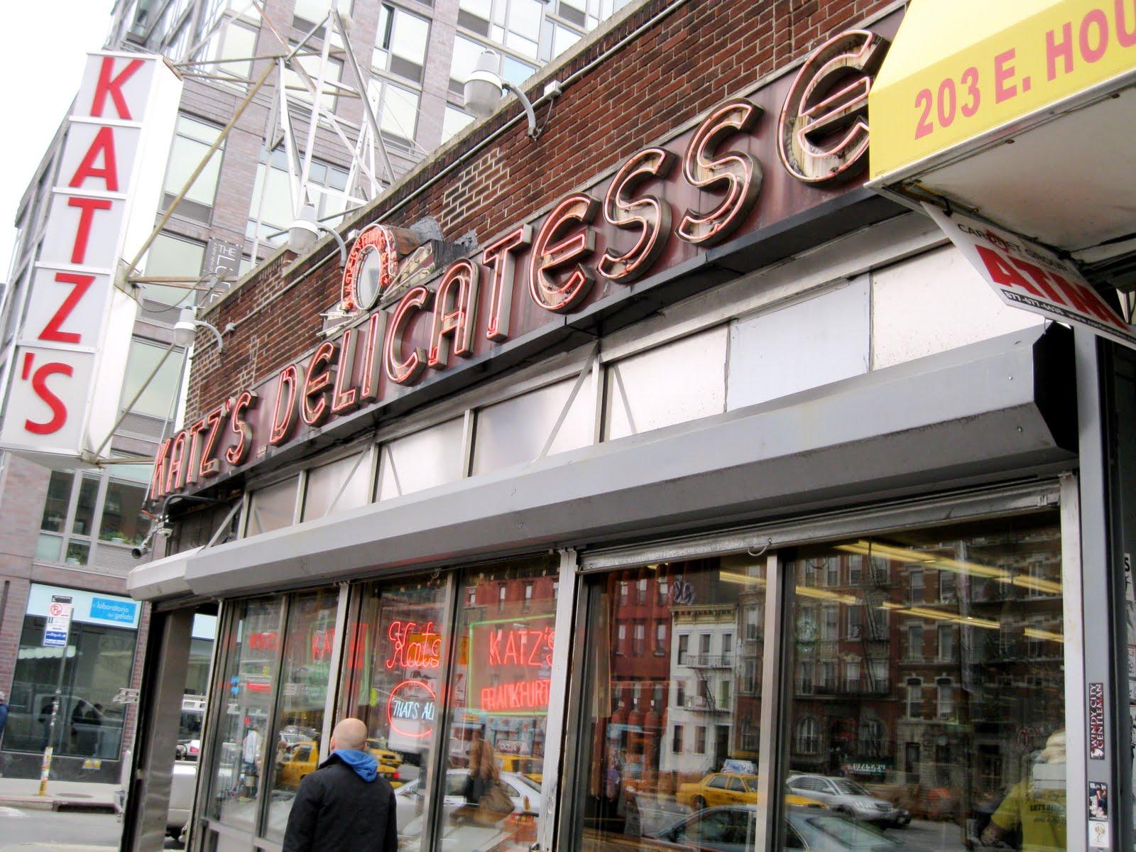 Mitch Broder's Vintage New York: Katz's Delicatessen: NYC ...