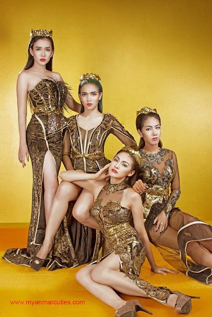 Nansu Yati Soe, Aye Myat Thu, Nwe Darli Htun, Gonyi Aye Kyaw