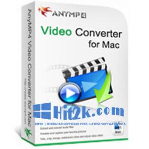 AnyMP4 MXF Converter 7.2.8 + Crack Full Version