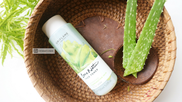 ORIFLAME LOVE NATURE ALOE VERA REVIEW