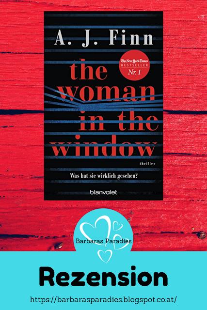Buchrezension #259 The Woman in the Window - Was hat sie wirklich gesehen? von A.J. Finn