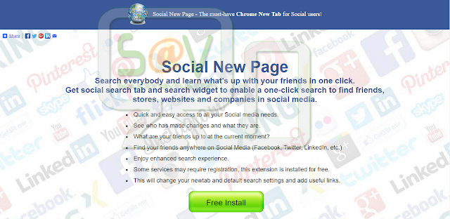 Social New Page