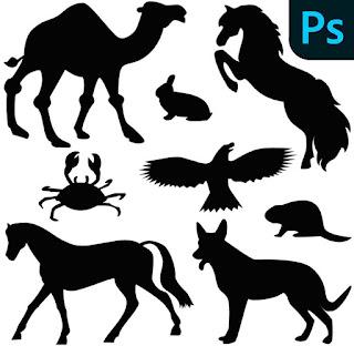 فرش حيوانات للفوتوشوب