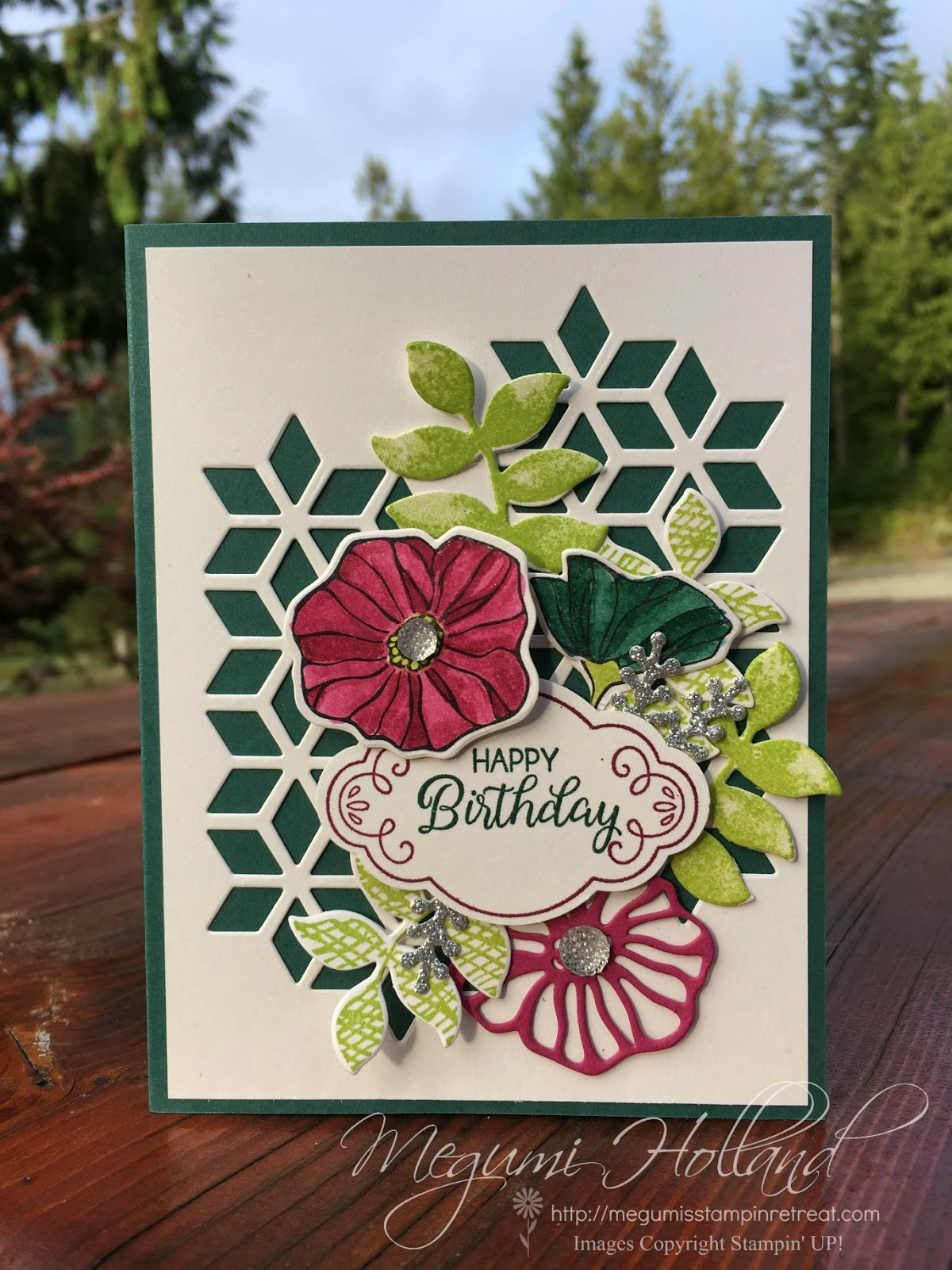 Hello Stampers! I Am Excited To Share This Beautiful Card We Made In My Big  Shot Class This Month Featuring The Oh So Eclectic Stamp Set And The  Eclectic ...