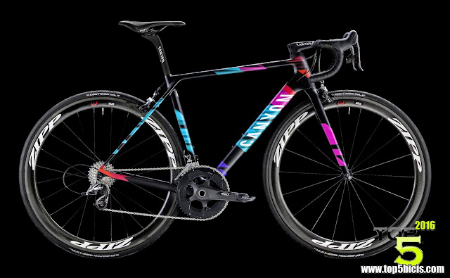 Canyon ULTIMATE CF SLX 9.0 WMN TEAM CSR, espectacular bici para las mujeres