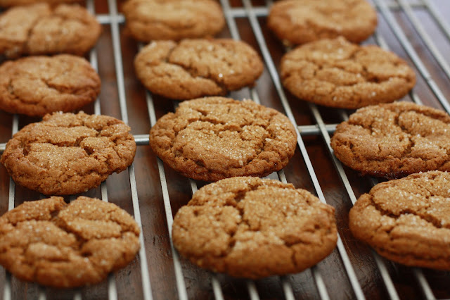 K's Veg Recipes: Chewy Ginger Molasses Cookies