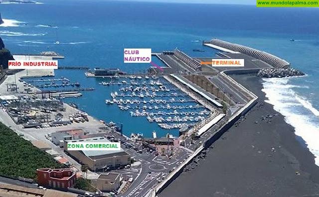 NC vuelve a demandar las obras de mejora del Puerto de Tazacorte