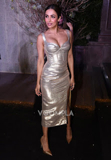 Malaika Arora Khan looking  at Manish Malras party 640x920.jpg
