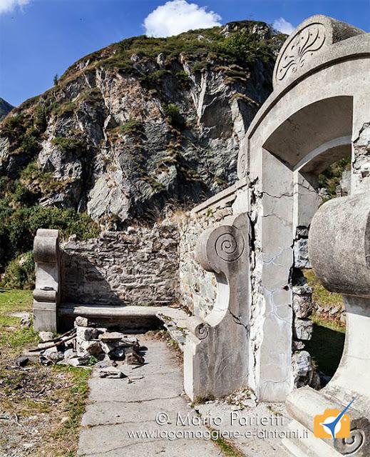 I resti di Villa Aprilia