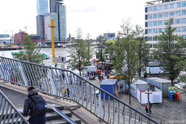 Rotterdam world port days stands shops