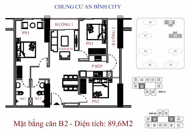 Căn B2 89m An Bình City