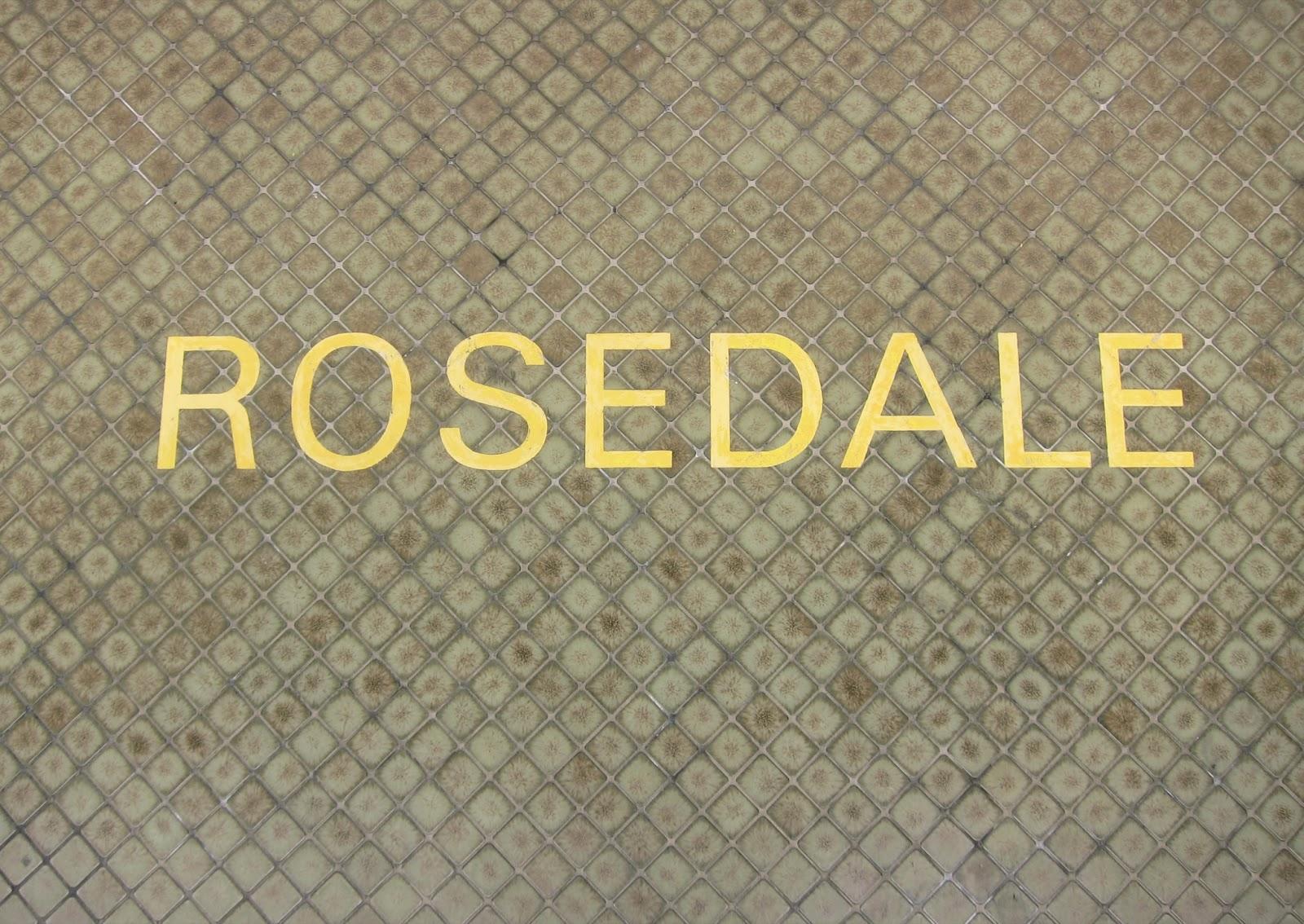 Rosedale station identification tiling