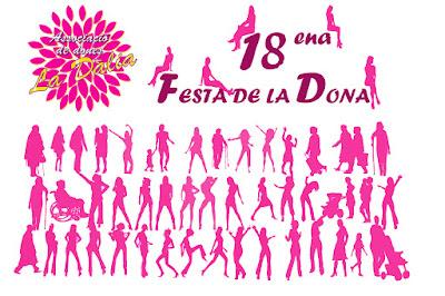 #ladaliademaspujols, Associació de Dones La Dàlia de Maspujols, la Dàlia, la Dàlia de Maspujols, XVIII ena Festa de la Dona a Maspujols