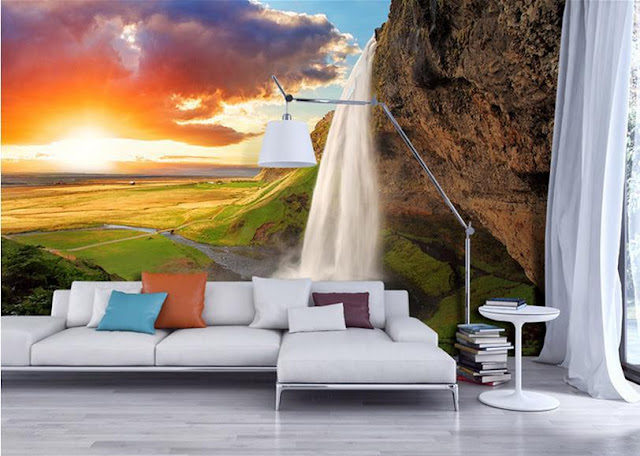 Murales de paisajes decorativos para salas for Murales de pared de paisajes