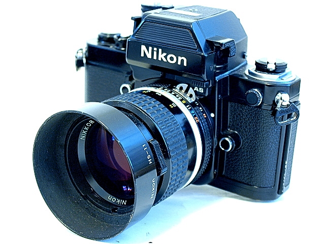 Nikon F, F2, and F3 35mm SLR Cameras