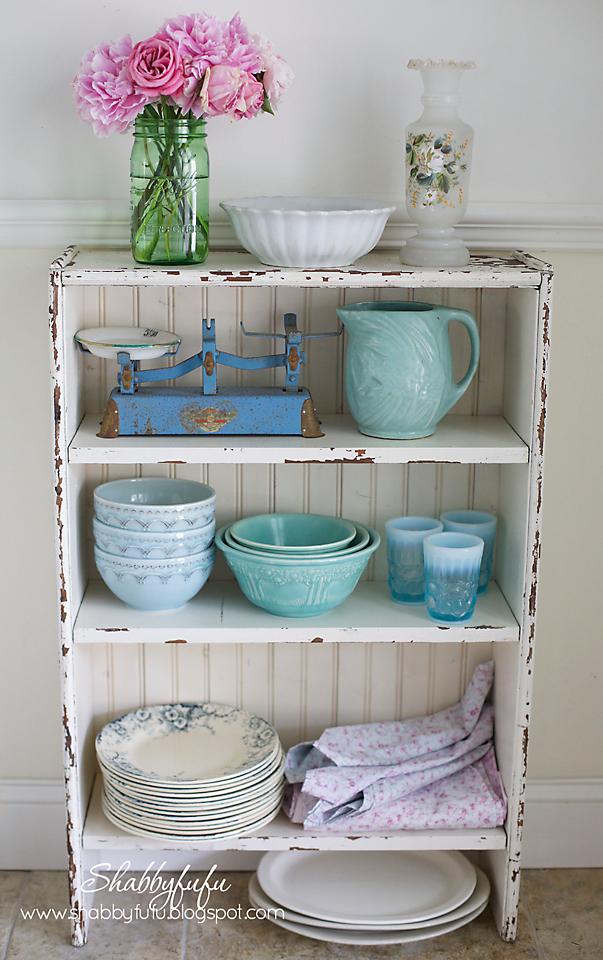 beadboard diy cabinet