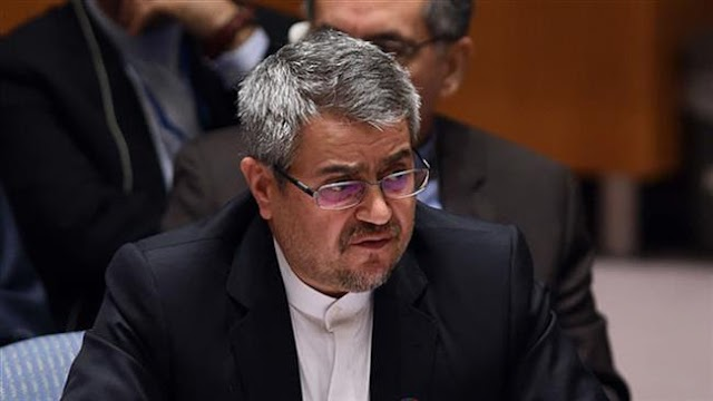 Remarks by US secretary of state Rex Tillerson against UN Charter: Iran's UN envoy Gholam Ali Khoshroo