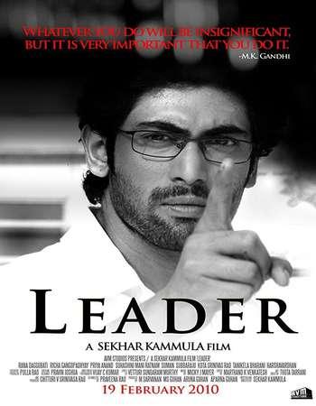 Leader 2010 UNCUT Hindi Dual Audio BRRip Full Movie Download