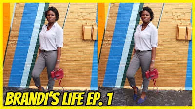 Brandi's Life Ep. 1: Buffalo, NY (DVF, Furla, Sachin & Babi Office Fashion)  PrettyPRChickTV
