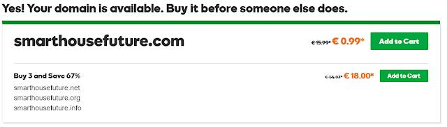 Le nom de domaine smarthousefuture.com est disponible et prêt à être enregistré.