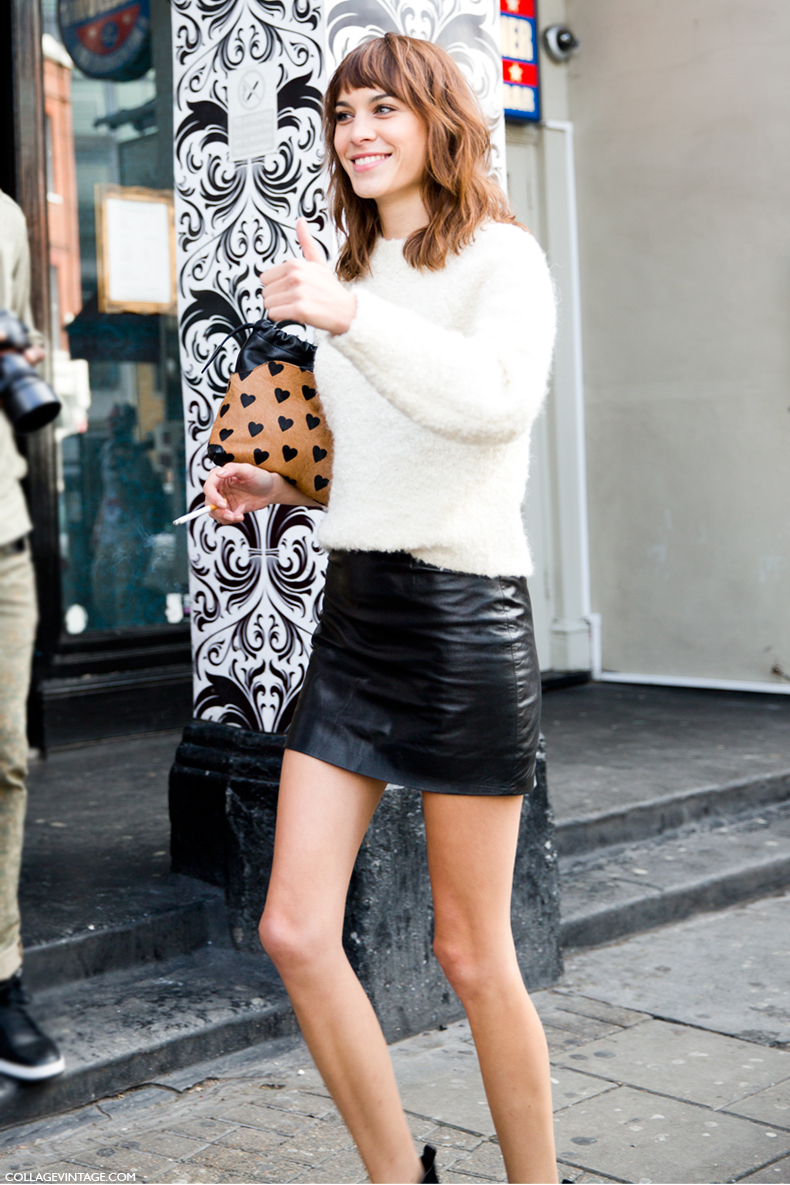 The Vintage Style of Alexa Chung
