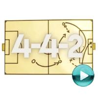 """4-4-2 - naciśnij play, aby otworzyć stronę z odcinkami magazynu piłkarskiego """"4-4-2"""" (odcinki online za darmo)"""