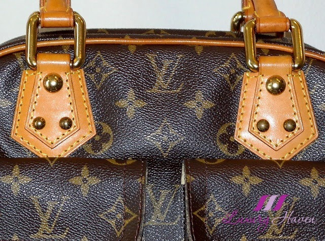 louis vuitton leather stitching review