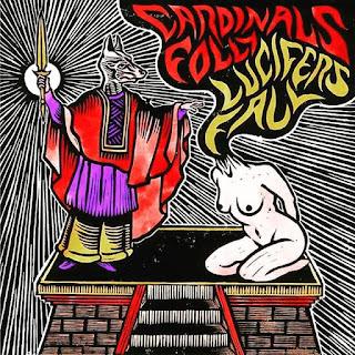 """Το τραγούδι των Cardinals Folly """"Walvater Proclaimed"""" από το split με τους Lucifer's Fall"""