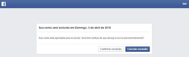 Se você não acredita que voltará a usar o Facebook, é possível solicitar que sua conta seja excluída permanentemente.