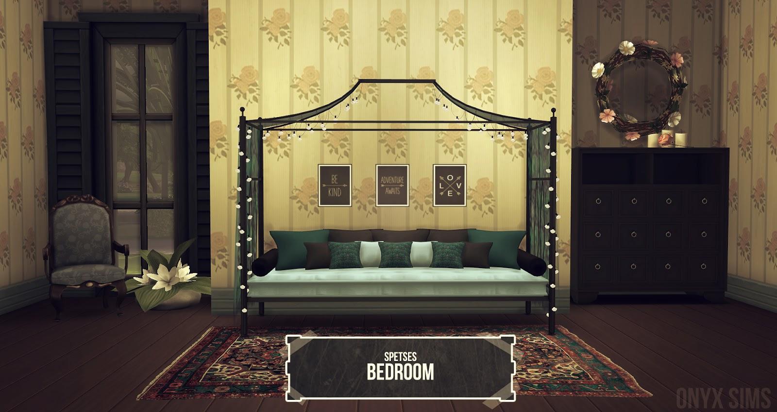 my sims 4 blog spetses bedroom set by kiararawks
