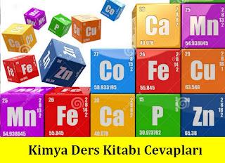 10. Sınıf Kimya Ders Kitabı Cevapları