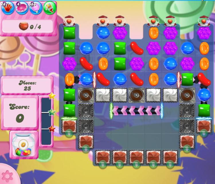 Candy Crush Saga level 2751