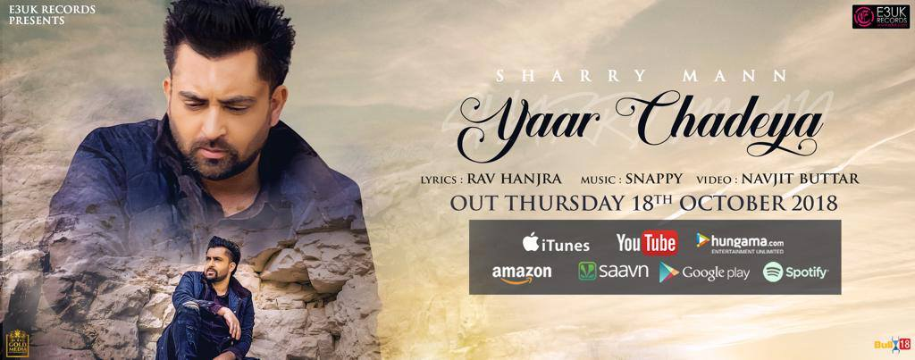 Yarr Chadeya  Sharry Mann  new song
