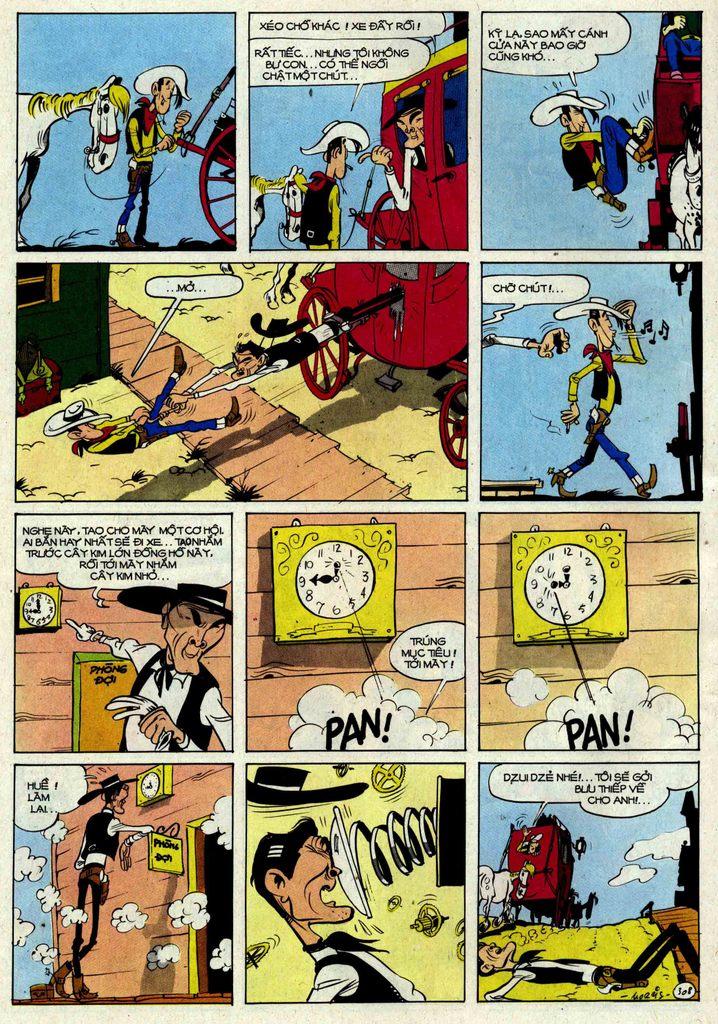 Lucky Luke tập 25 - nhện chân dài trang 8
