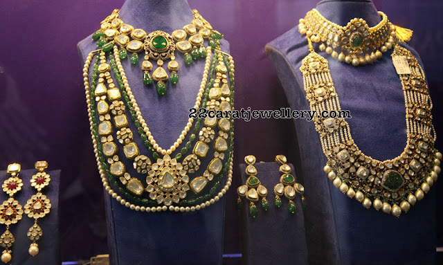 Luxurious Polki Kundan Jewellery