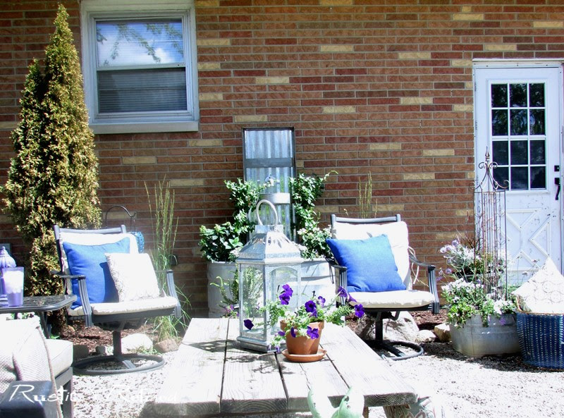 Beautiful backyard makeover on a budget