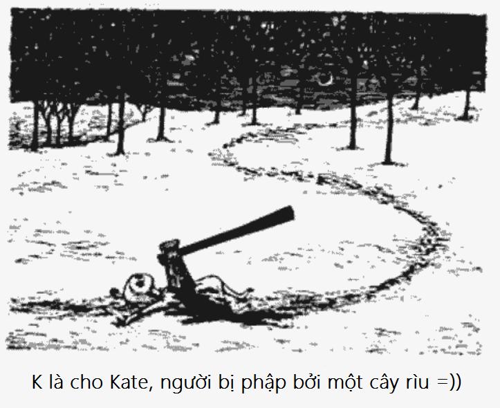 K bang chu cai rung ron