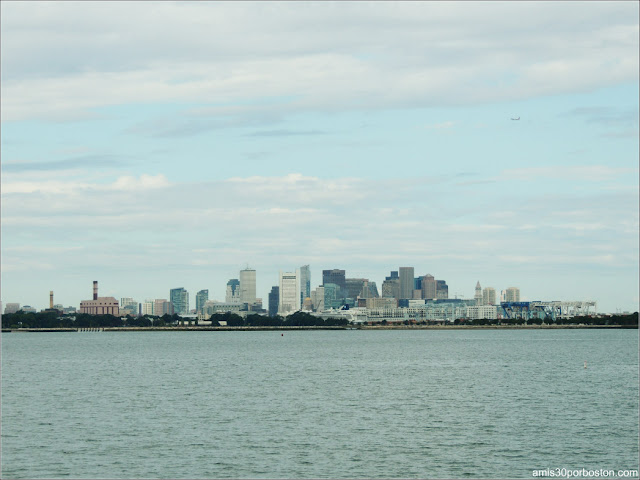 Vitas de Boston desde el Ferry