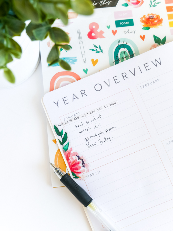 Brand new planner from Heidi Swapp. How to start a new chapter with Heidi Swapp Storyline Chapters | Planner