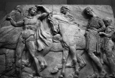 5 περιηγητές καταγράφουν την κλοπή των γλυπτών του Παρθενώνα