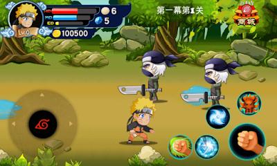 Naruto Shippuden Chibi Battle MOD APK1