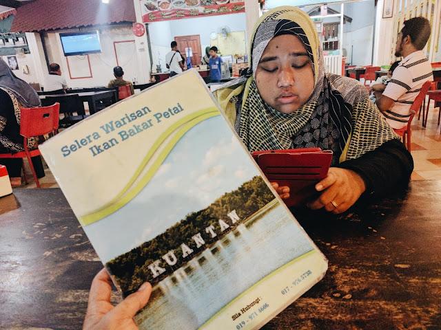 Menu di RestoranSelera Warisan Tomyam Ikan Bakar Petai