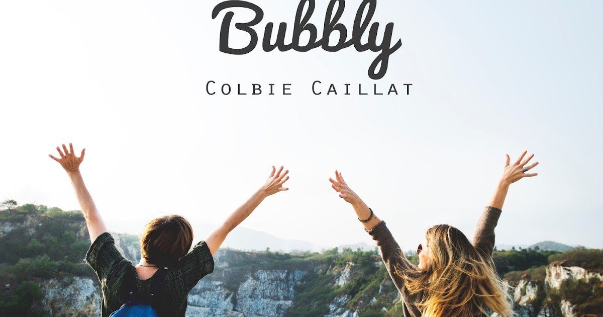 Bubbly Colbie Caillat Music Letter Notation With Lyrics For