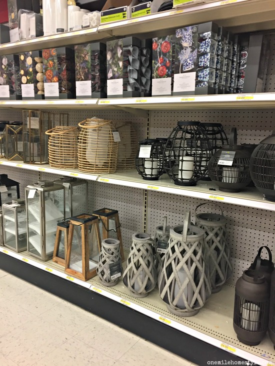 Great outdoor lanterns from Target for your deck and patio this summer!