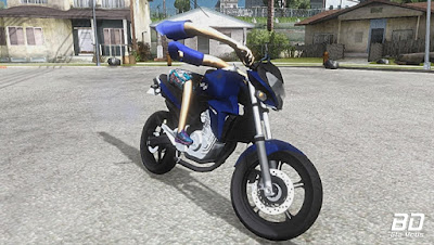 Download , Mod , Moto, CB300 Dichavada para PC FRACO para GTA San Andreas, GTA SA , JOGO , PC