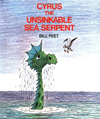 Cyrus The Unsinkable Sea Serpent, part of Bill Peet book review list and resources