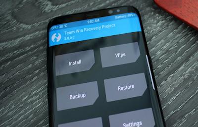 Cara Install TWRP Samsung Galaxy S8 dan S8+ dengan Mudah
