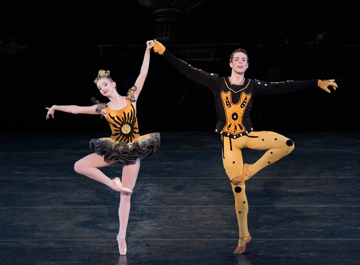 doug mcclure s views on ballet life emma von enck and thomas davidoff as the lead couple in danses concertante photo by paul kolnik for the school of american ballet