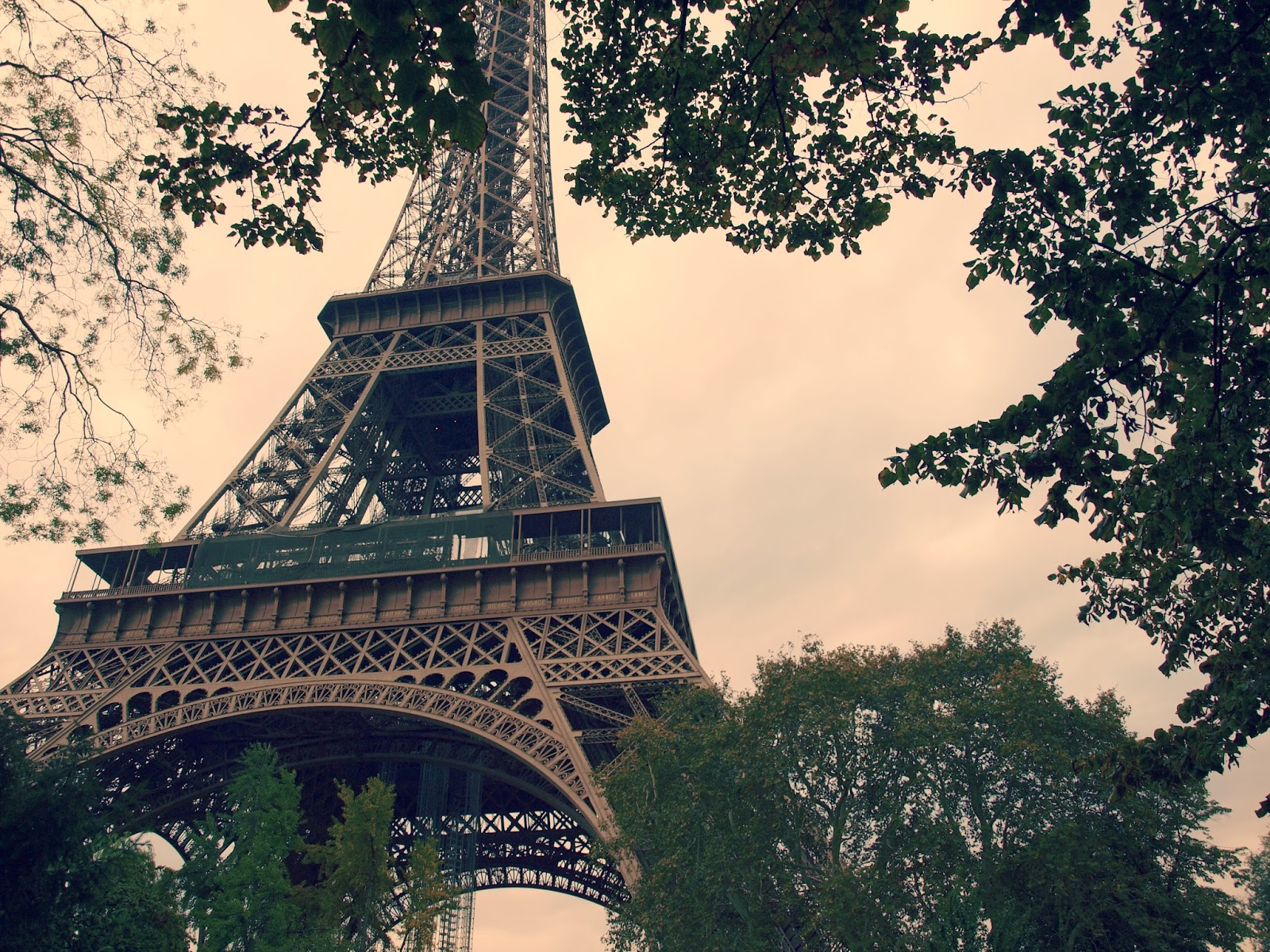 Eiffel Tower in October by Hello Lovely Studio
